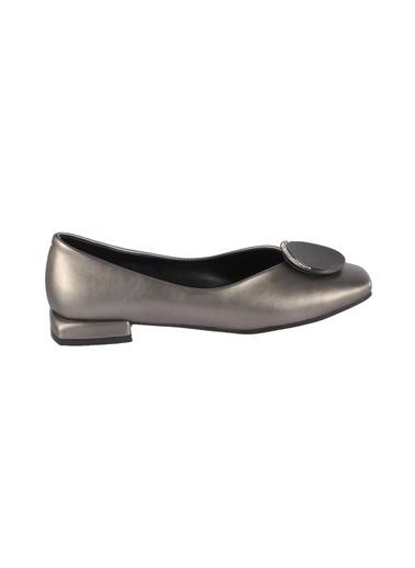 Mhd 148 Kadın Platin Günlük Ayakkabı Gümüş